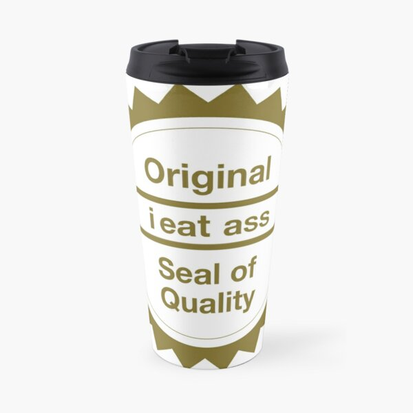 "Nintendo's ""Seal of Quality"" Travel Mug"