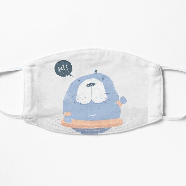 Happy Manatee Mask Mask