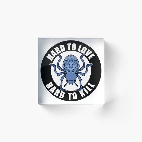 Hard2LuvHard2Kill Beetle Bloc acrylique