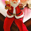 Sitting Santa by Penny Smith