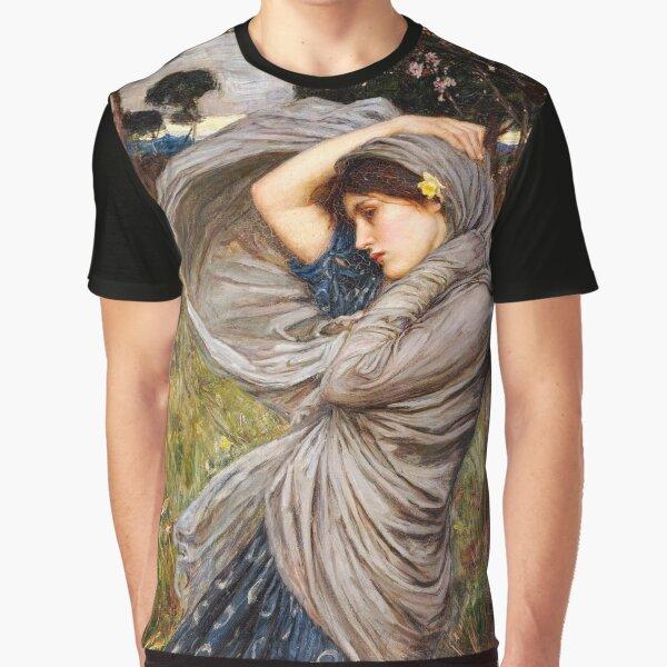 John William Waterhouse – Boreas Graphic T-Shirt