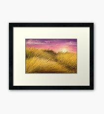 Grassy Plains Framed Print