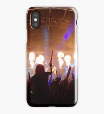 flame on concert  iPhone Case