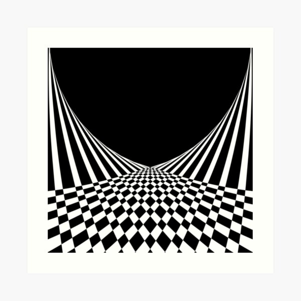 ILLZUN - BW Art Print