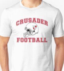 Crusader Football - Red Unisex T-Shirt
