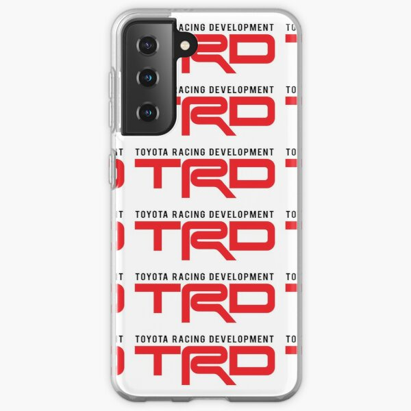 TRD: Toyota Racing Development Funda blanda para Samsung Galaxy
