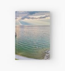 Shaman Rock, Lake Baikal in Siberia, Russia Hardcover Journal