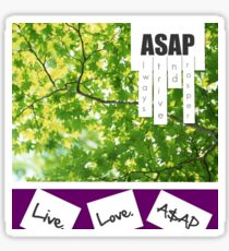 Live.Love.A$AP Sticker