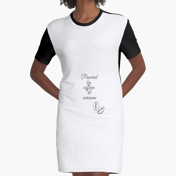 Escuadrón cafetero Vestido camiseta