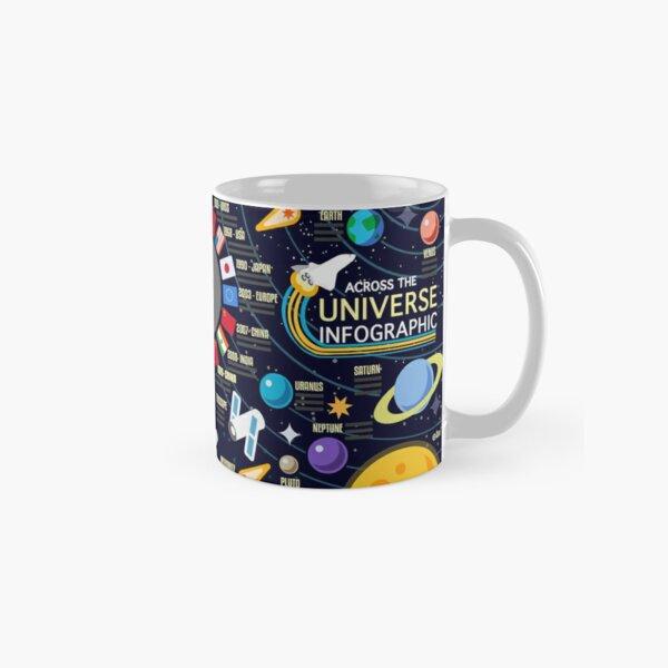 Space Universe Infographics Big Bang Classic Mug