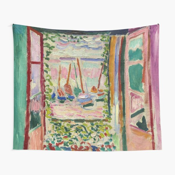 The Open Window by Matisse Tapestry