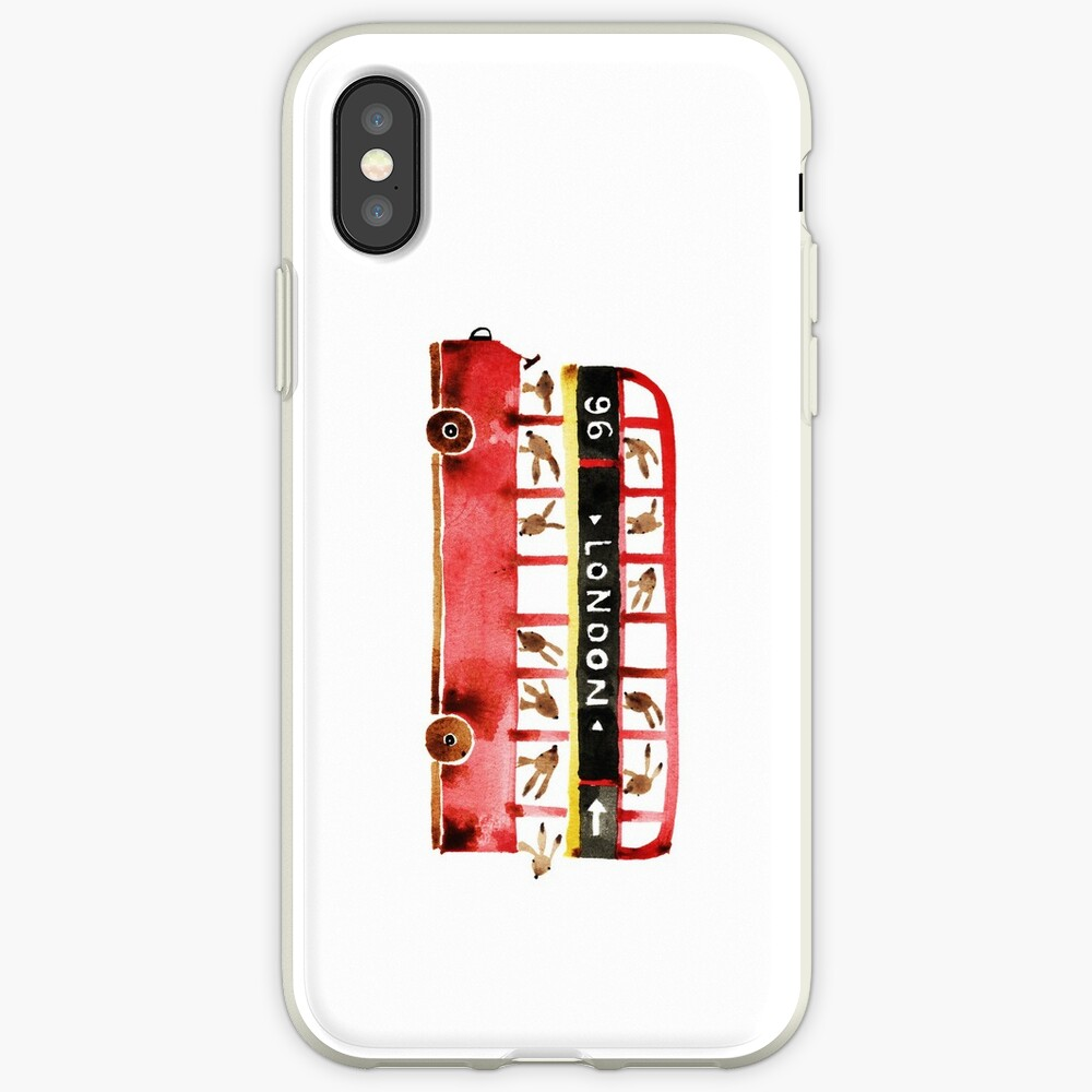 Bunny in London iPhone Case & Cover