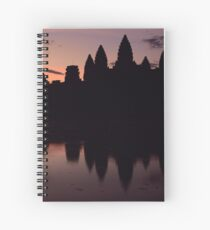 Sunrise at Angkor Wat, Cambodia  Spiral Notebook