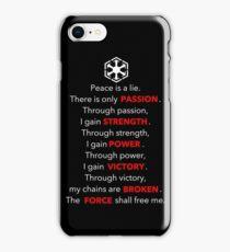Sith Code iPhone Case/Skin