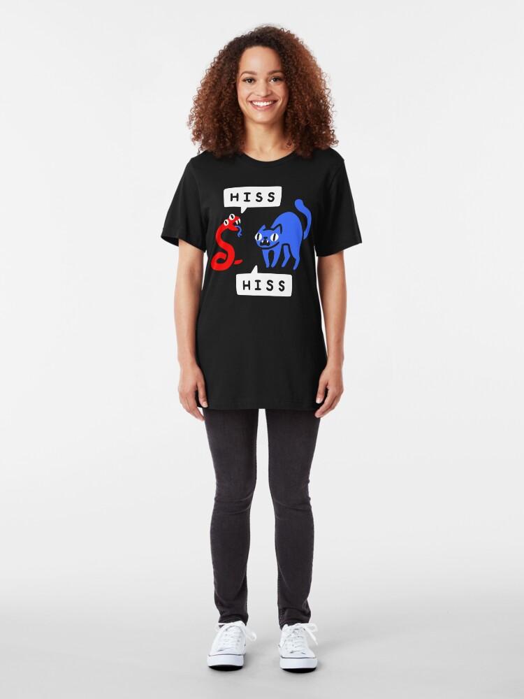 Alternate view of Hissy Fit Slim Fit T-Shirt