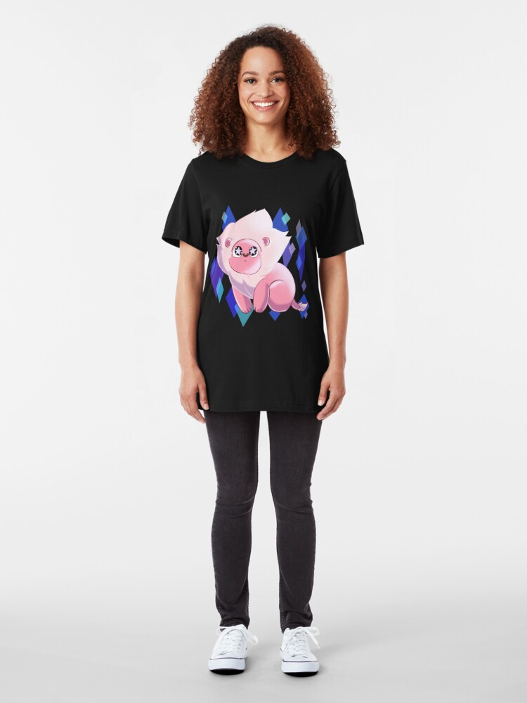 Alternate view of SU - Starry Eyed Lion  Slim Fit T-Shirt