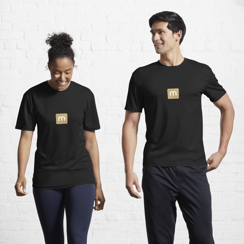 minerstat - Gold Active T-Shirt