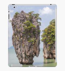 Khao Tapu rock at James Bond island, Andaman Sea, Thailand iPad Case/Skin