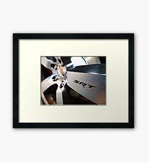2012 Dodge Challenger Rim Detail Framed Print