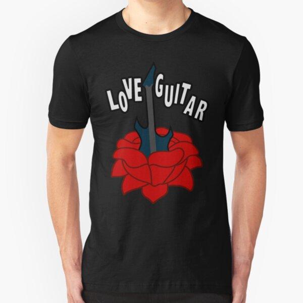 Love Guitar Slim Fit T-Shirt