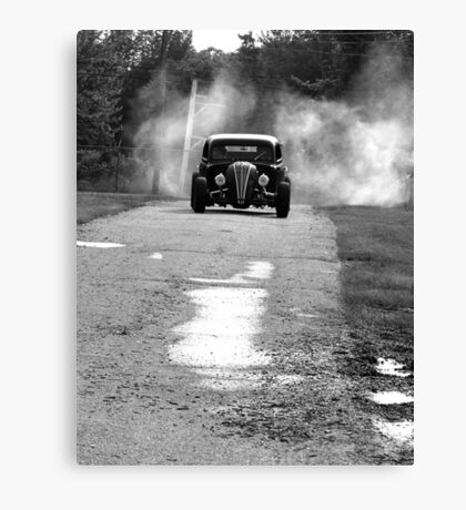 Burnout! Canvas Print