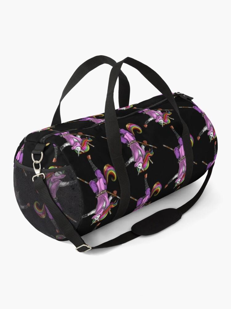 Alternate view of Unicorn Ninja Samurai Duffle Bag