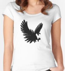 Ho Oh Silhouette Women's Fitted Scoop T-Shirt