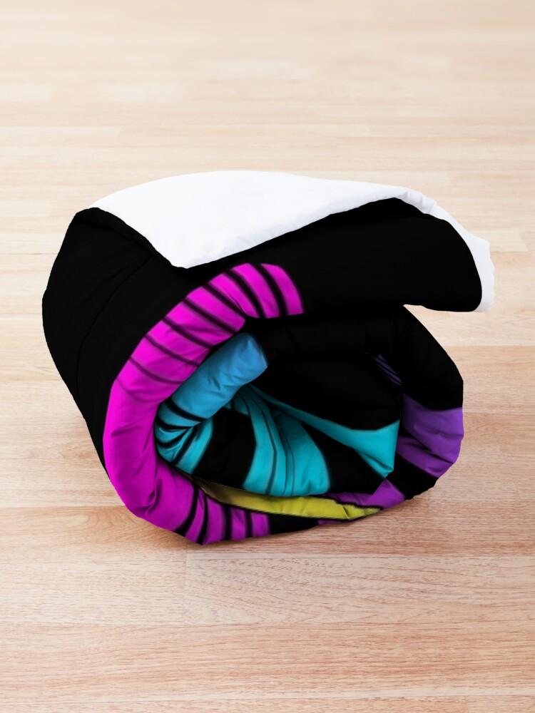 Alternate view of Cobra kai 2021 Karate Girl  Comforter