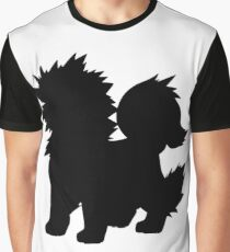 Arcanine Silhouette Graphic T-Shirt
