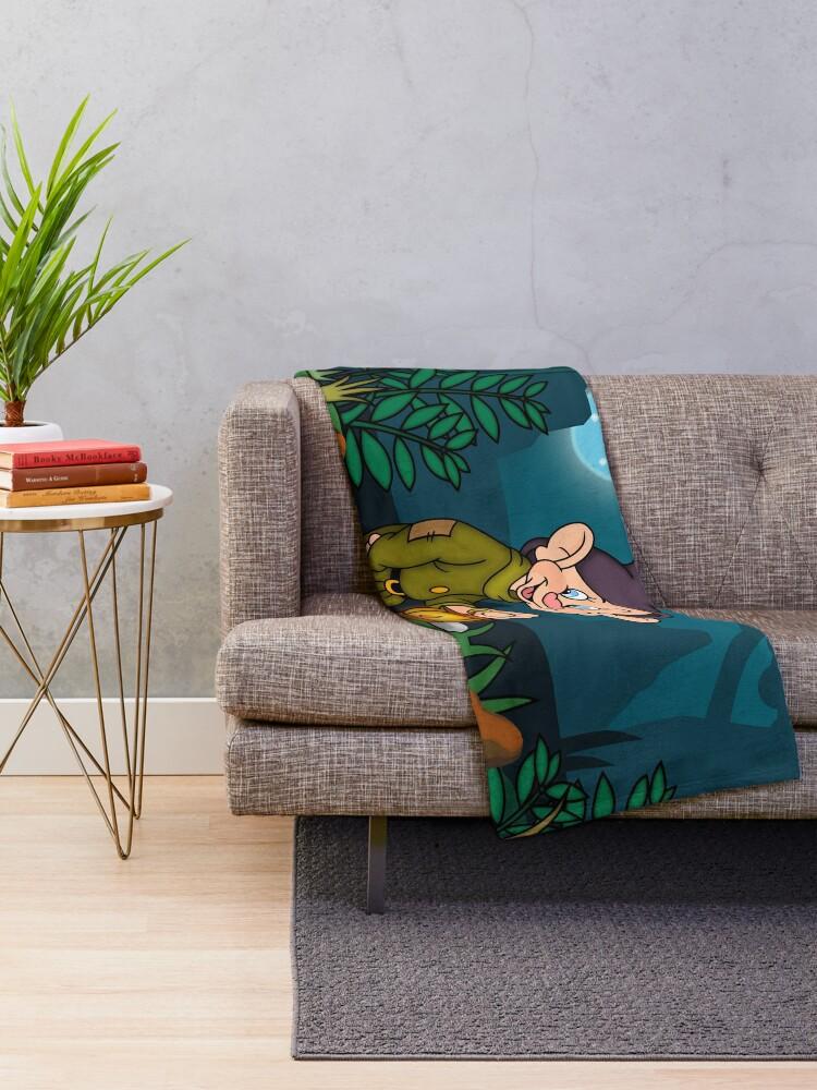 Alternate view of Dopey Lantern Throw Blanket