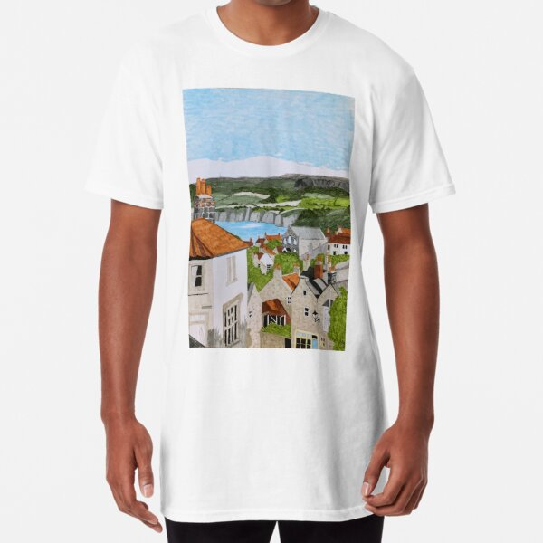 Robin Hood's Bay Long T-Shirt