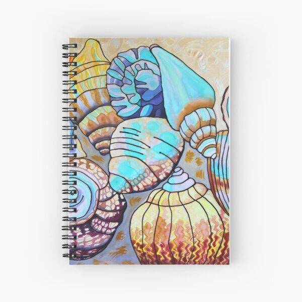 Belizean Shells by Lee Vanderwalker Spiral Notebook