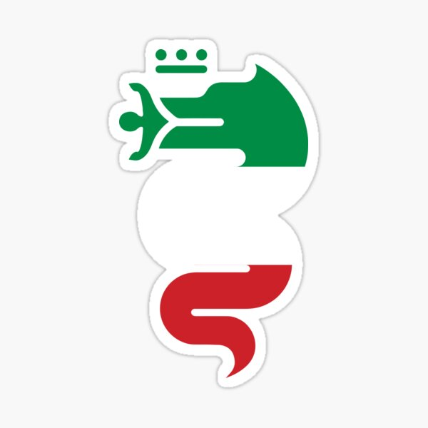 Serpent Alfa Romeo Sticker
