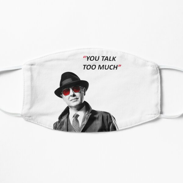 The Blacklist Flat Mask