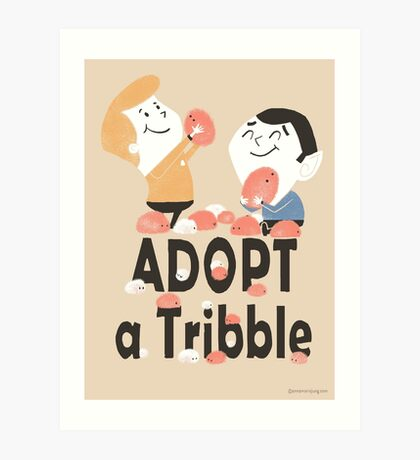 Adopt a Tribble Art Print