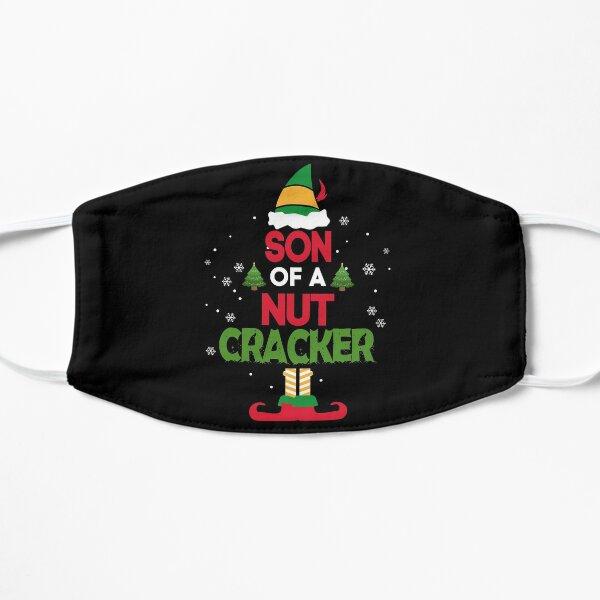 Son of a Nutcracker! T-Shirt Elf Christmas Funny Tshirt XMAS Flat Mask