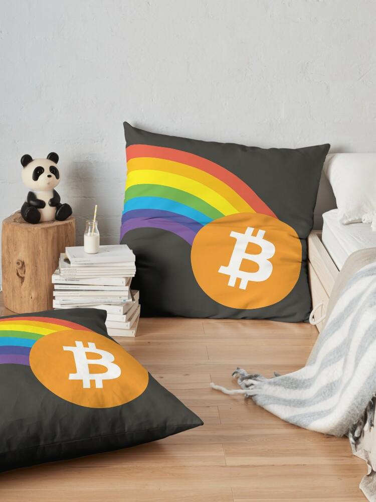 Alternate view of Bitcoin Pot  Floor Pillow