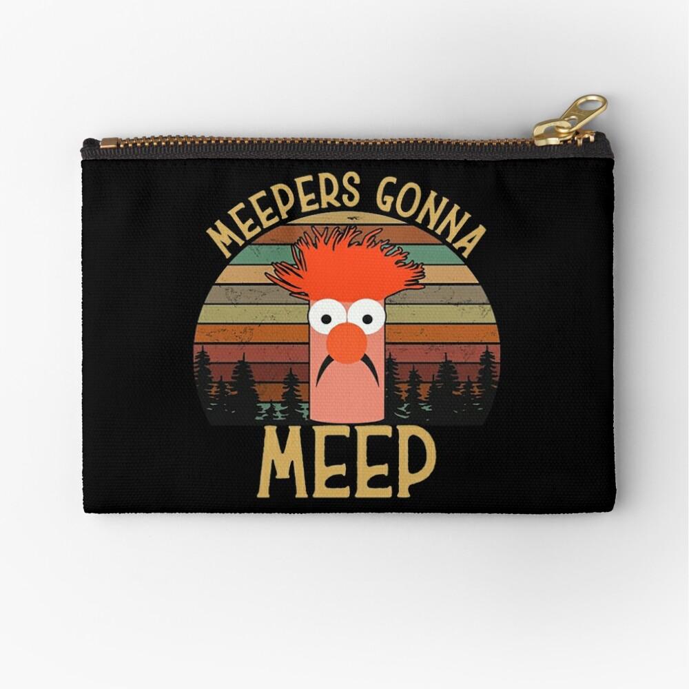 The muppet show beaker meepers gonna meep Zipper Pouch