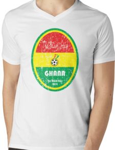 World Cup Football - Ghana Mens V-Neck T-Shirt