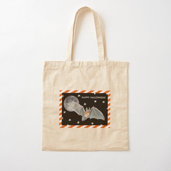Happy Halloween!  Cotton Tote Bag
