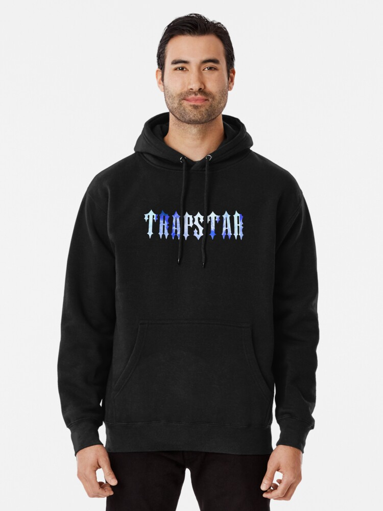 Alternate view of Trapstar London logo design Pullover Hoodie