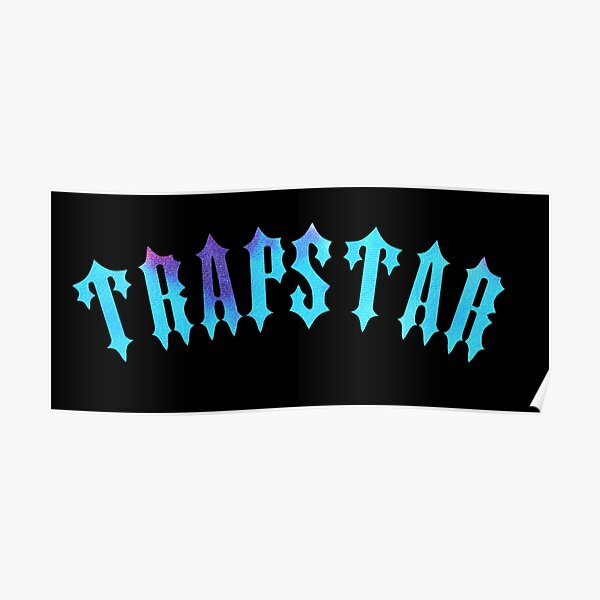 Trapstar London logo design Poster