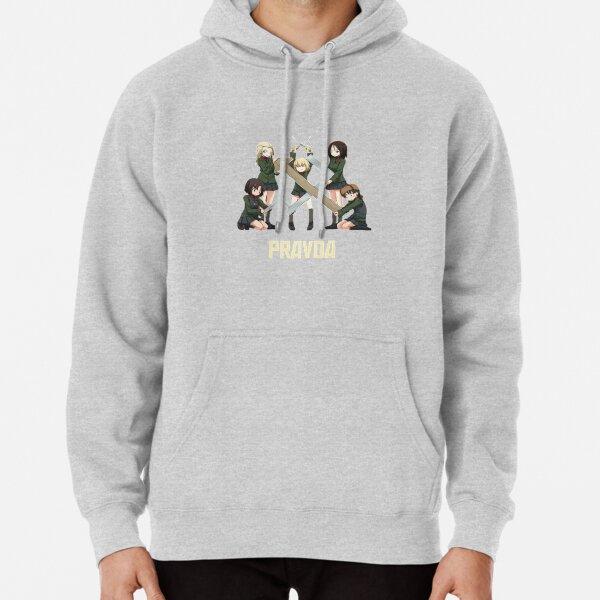 Girls Und Panzer - Pravda Girls High School Pullover Hoodie