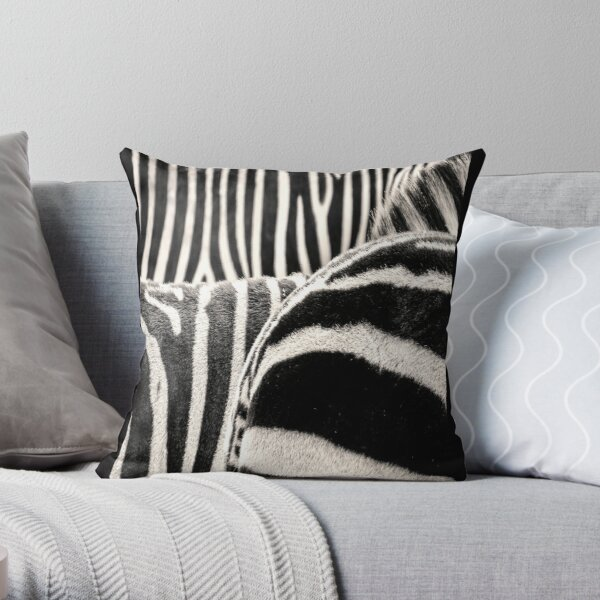 Zebras, Zebras. All Zebra...All The Time Throw Pillow