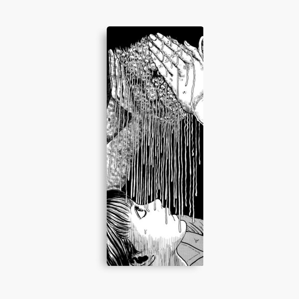 Junji Ito - Glyceride Canvas Print