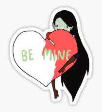 Marceline Heart - Adventure Time Sticker