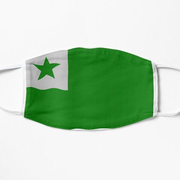 Esperanto flag Flat Mask