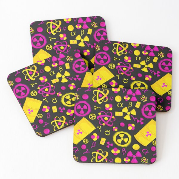 RadCon but it's a seamless pattern Coasters (Set of 4)