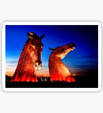 """""""THE KELPIES"""" ANOTHER TAKE. Sticker"""