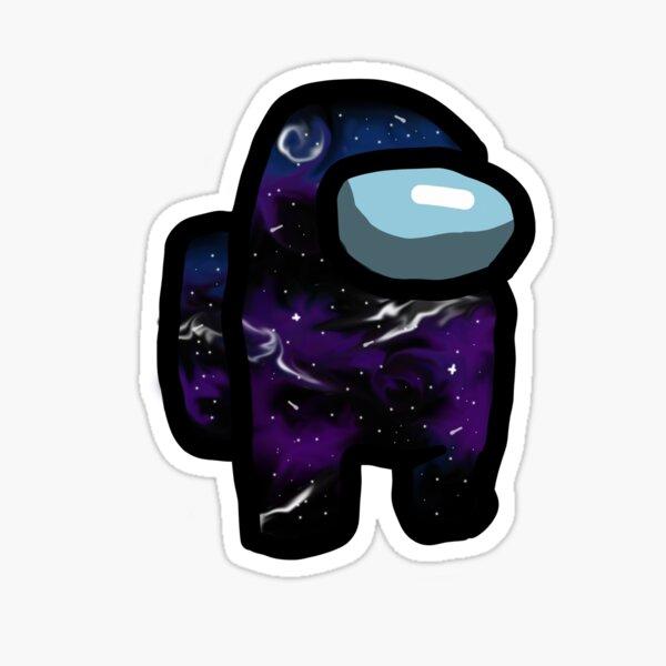 Among us Galaxy Character Sticker